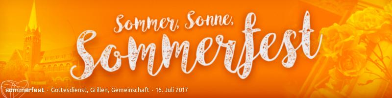 Sommerfest 2017 in der Jerusalem-Kirche
