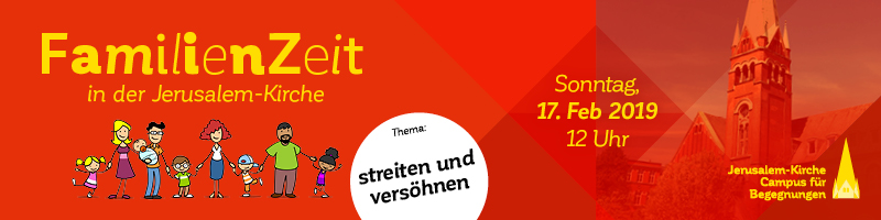 """Banner """"FamilienZeit 4 – Thema: streiten und versöhnen"""""""