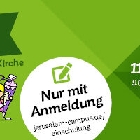 "Banner ""Segnung zur Einschulung 2020"""
